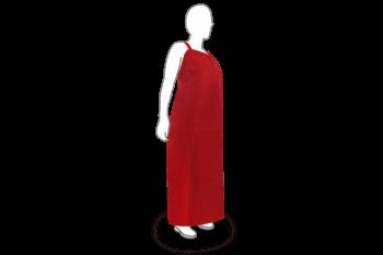 Mandil de TPU de .25 MM Rojo